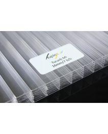Płyta poliwęglan kanalikowy bezbarwny 16mm 2100x6000 mm