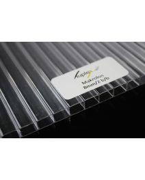 Płyta poliwęglan kanalikowy bezbarwny 8mm 2100x6000 mm