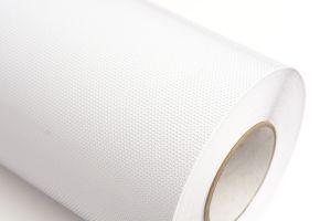 Folia biała perforowana połysk 60/40 0,98x50m