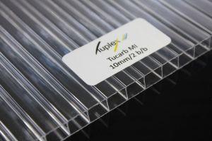 Płyta poliwęglan kanalikowy bezbarwny 10mm 1050x2000 mm