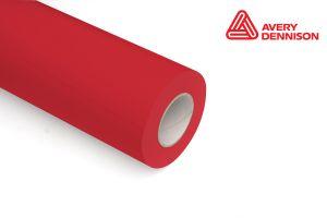 Folia samoprzylepna ploterowa mon. AV503 czerwona 1,23x50m mat