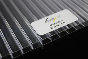 Płyta poliwęglan kanalikowy bezbarwny 8mm 1050x2000 mm