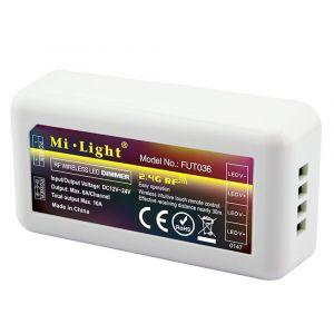 Mi-Light ODBIORNIK 10A RF 2.4G 4 STREFOWY MONO